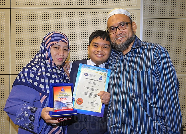 Autisme tidak halang Muhammad Hazim cemerlang