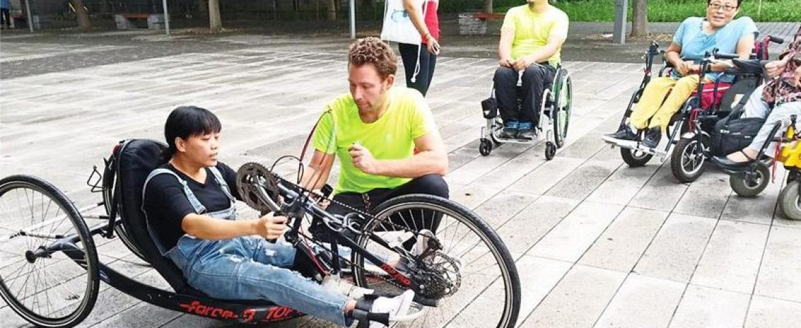 Paraplegic cross country cyclists told, 'Why don't you just stay home?