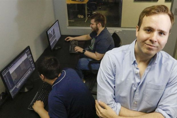 man with autism helps design virtual world to make life better for