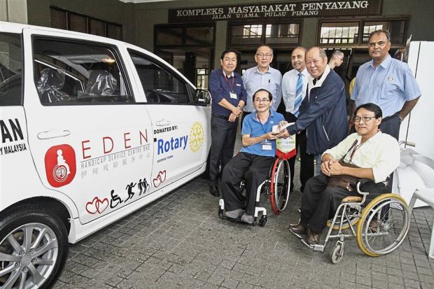 Easing the burden for the disabled