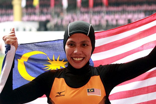Malaysian athletes bag two golds at Asian Para Games
