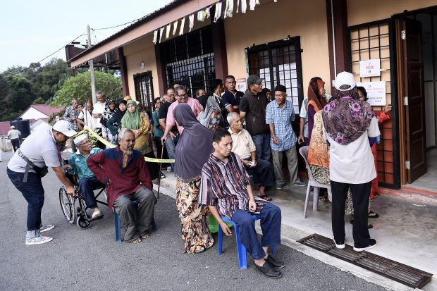 Cameron Highlands by-election: Among the first to vote? A disabled woman