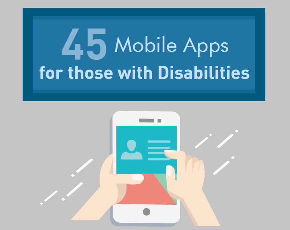 45 Powerful Mobile Apps for those with Disabilities