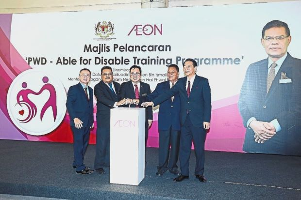Training programme for disabled employees marks second year