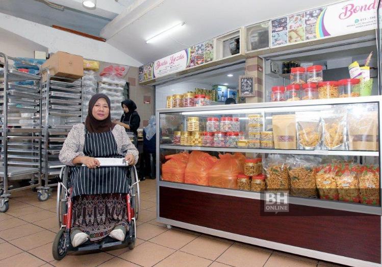 Raih RM60,000 daripada kerusi roda