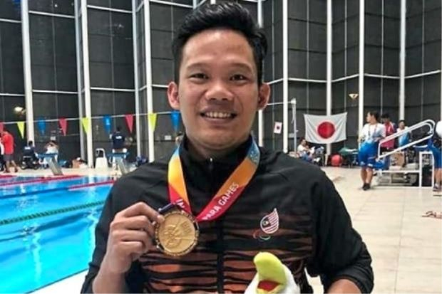 Ridzuan and Syaiful are Citibank ambassadors at Para Games