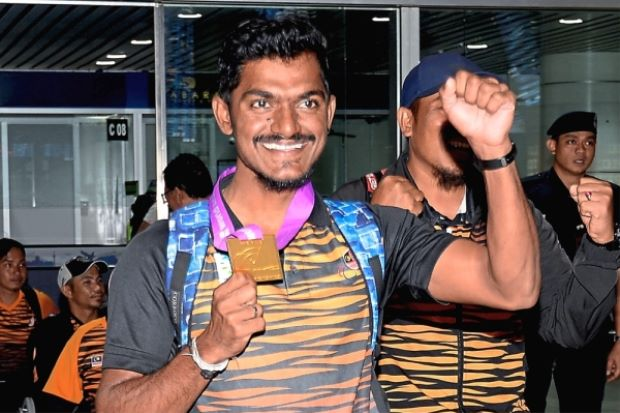 World champion Suresh a beacon of hope for the disabled