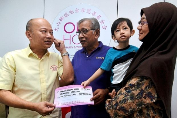 Boy in dire need of funds for cochlear surgery