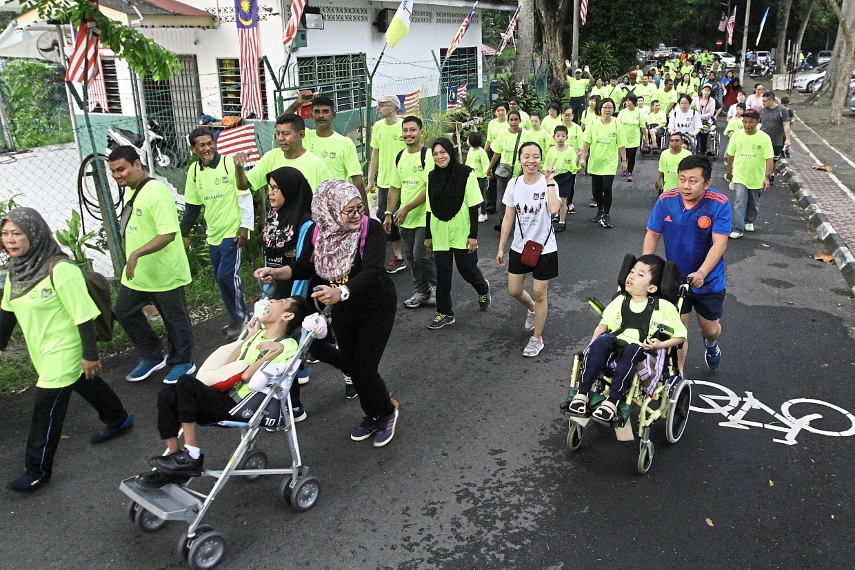 1,000 get together for Penang Peace Run 2019