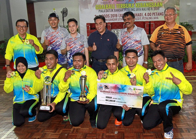Para-athletes shine at goalball meet