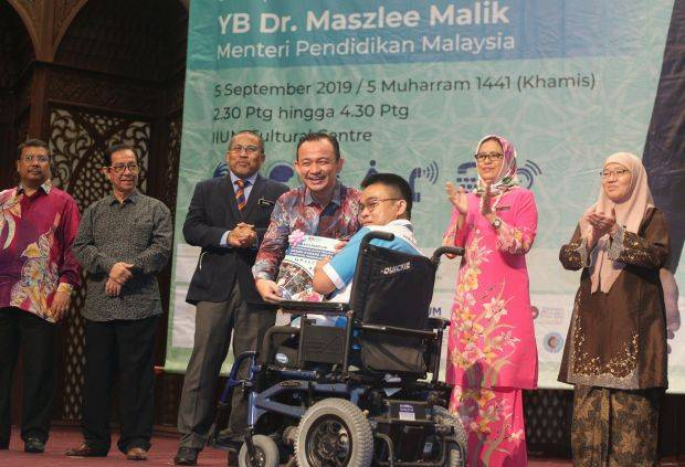 Dr Maszlee: All IPTAs must be completely disabled-friendly within 10 years