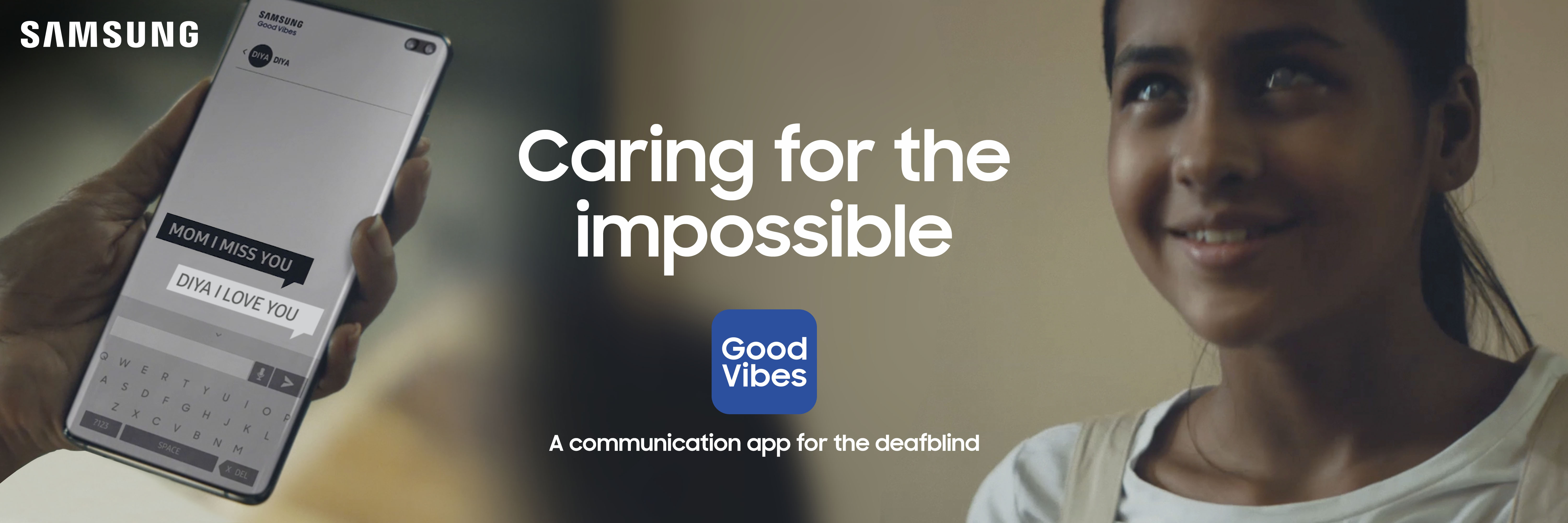 Samsung Good Vibes and Relúmĭno to Brighten Up Lives of the Deafblind and Vision Impaired
