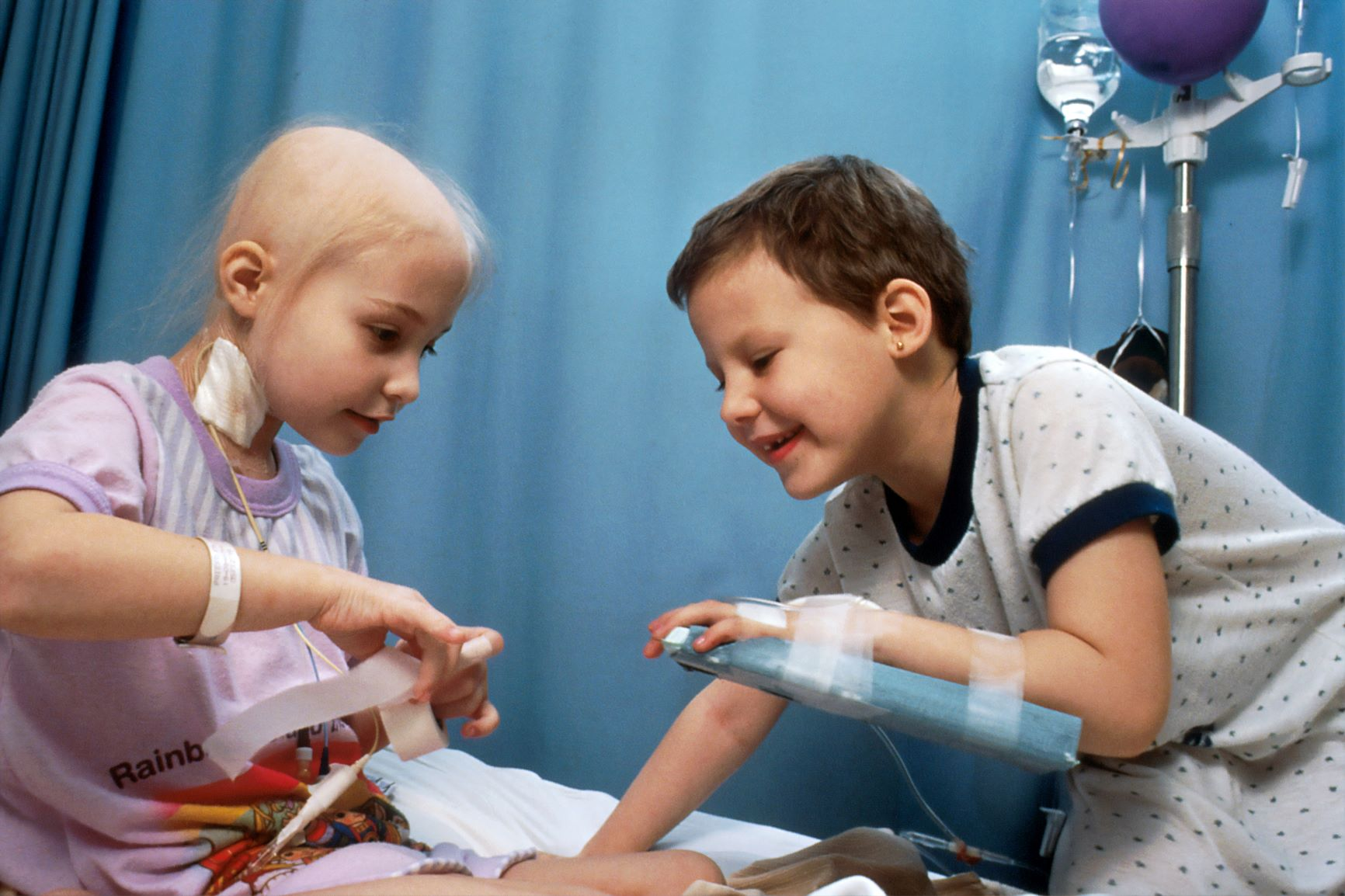 Helping children deal with cancer
