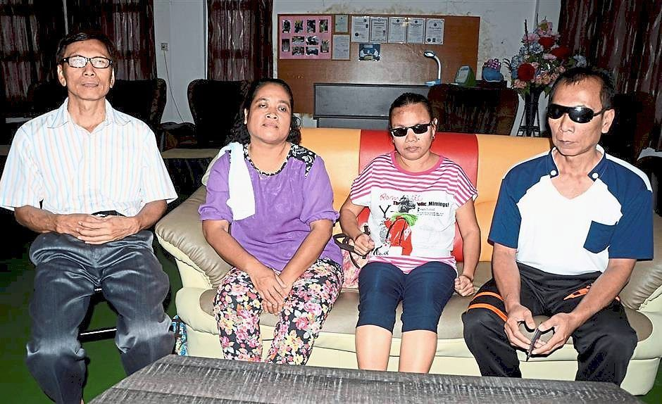 Blind masseurs hope to go back to work soon