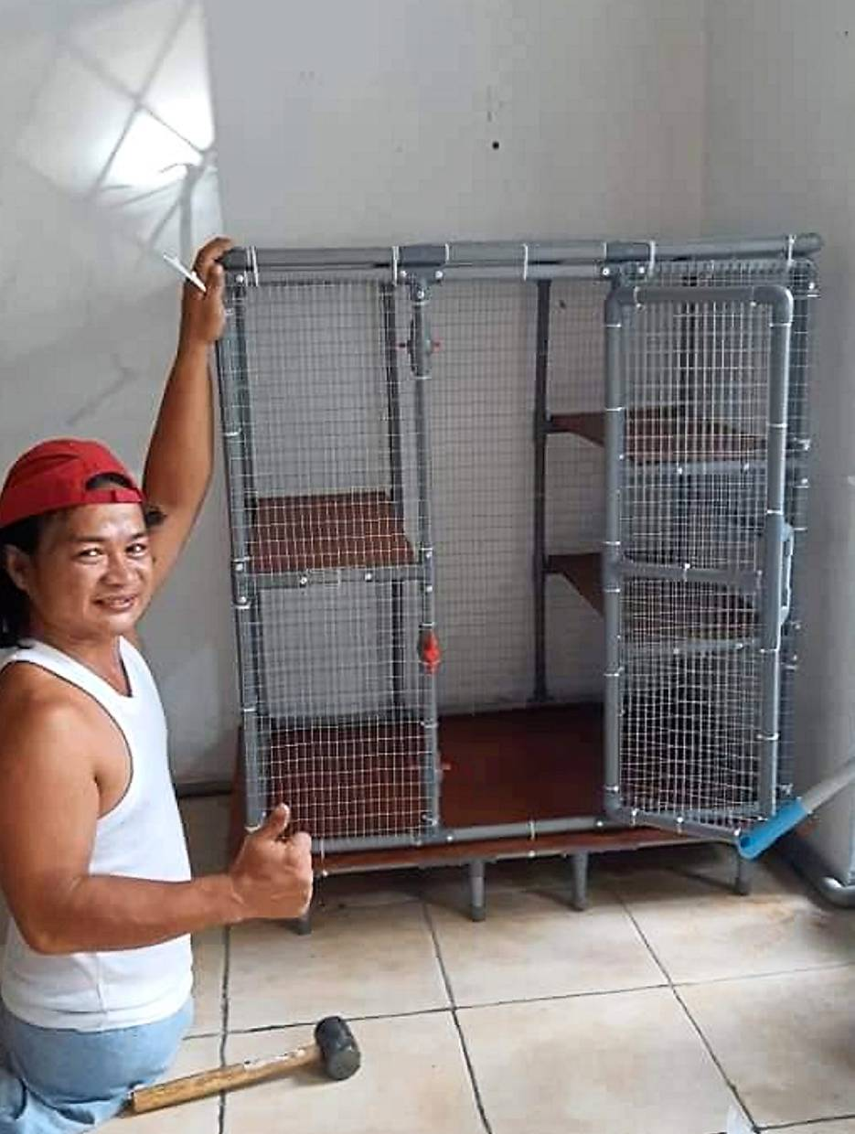 Resourceful handyman rises above disability