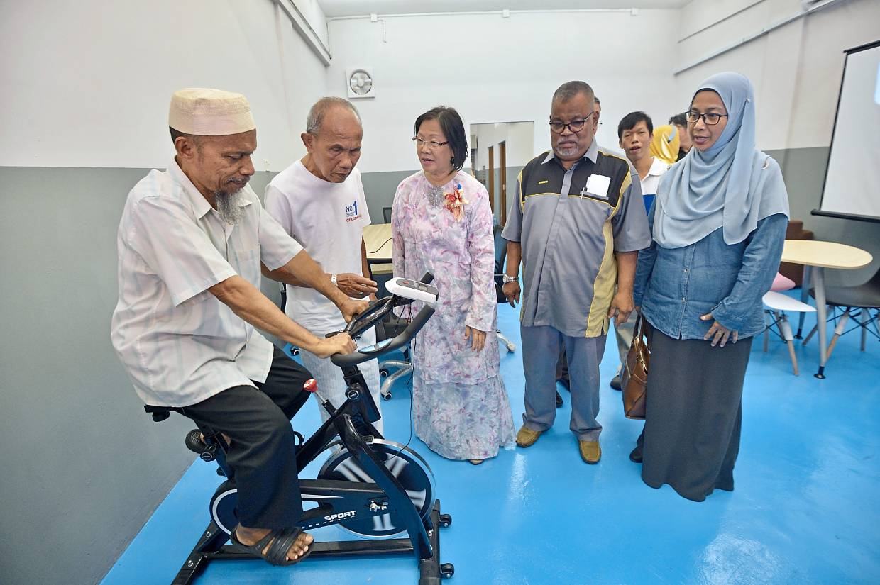 Taman Medan centre for elderly aims to raise quality of life