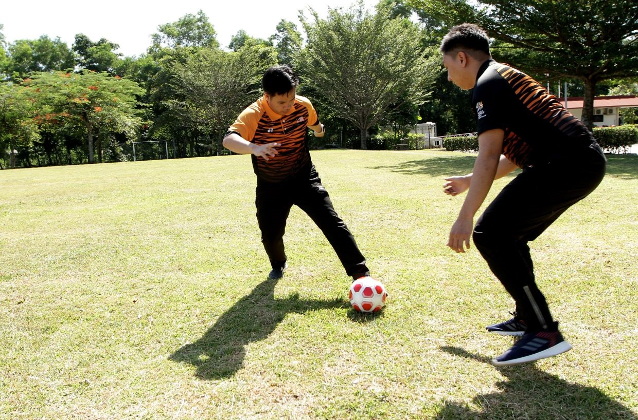 'I can run freely': Malaysian blind footballers on how sport has liberated them