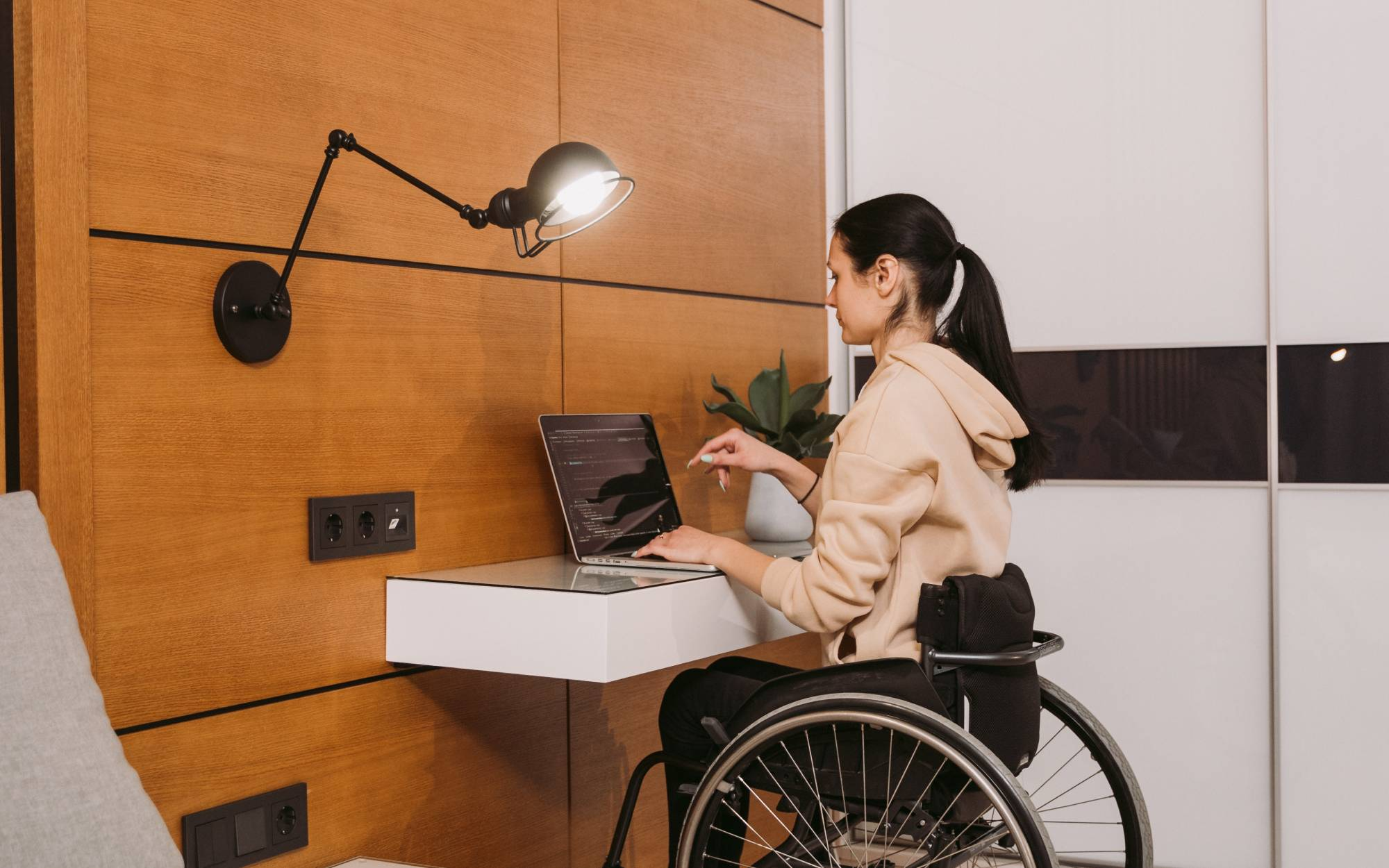 How technology makes WFH a permanent option for PWDs